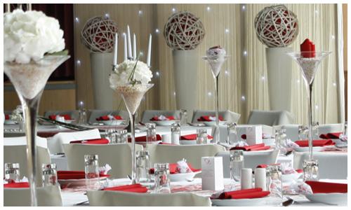 Hochzeit mit stil steht eine moderne stylische und - Moderne glasvasen ...